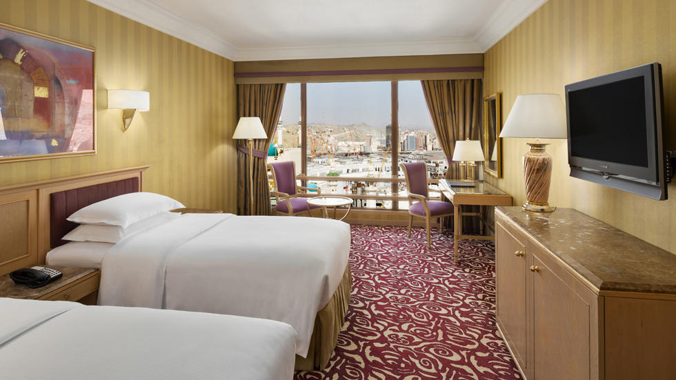 Club With Haram View With Two Twin Beds Makkah Hotel
