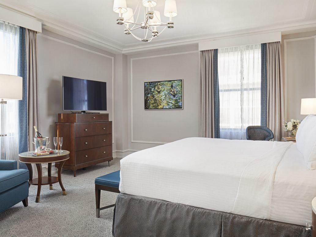 Peabody Club Suite Interior