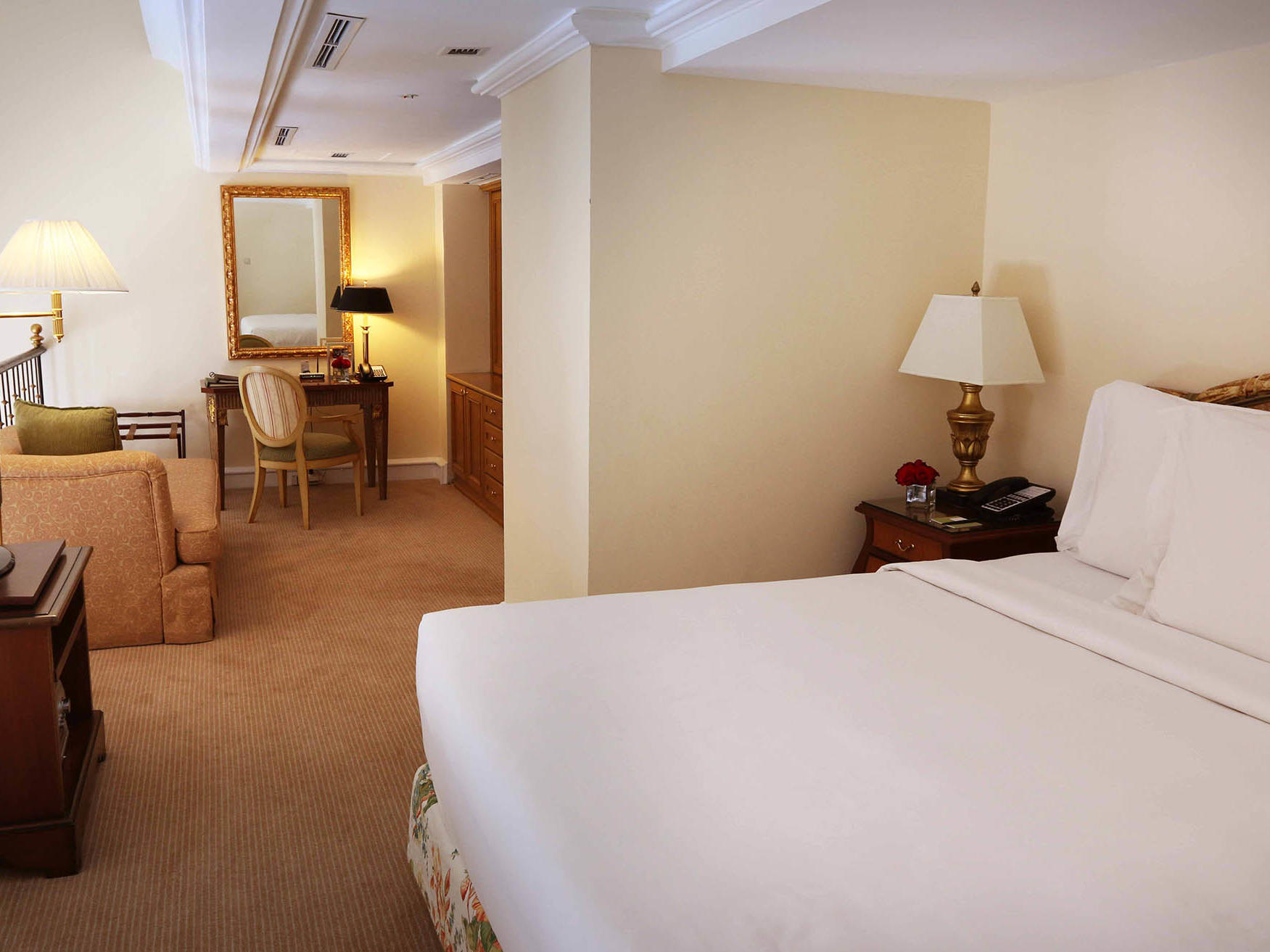 Gran Suite at Hotel Gran Mahakam in Jakarta, Indonesia