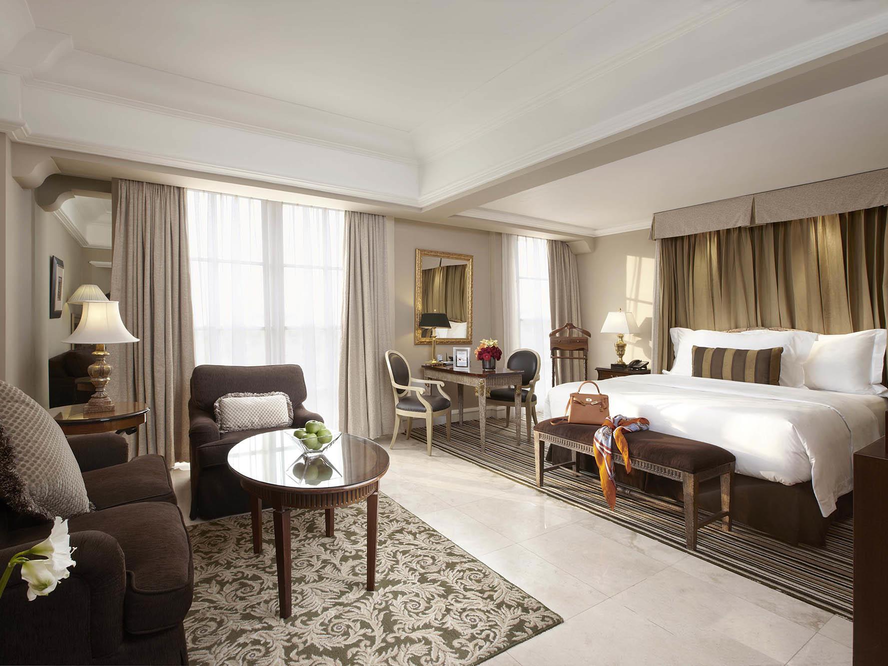 Junior Suite at Hotel Gran Mahakam in Jakarta, Indonesia