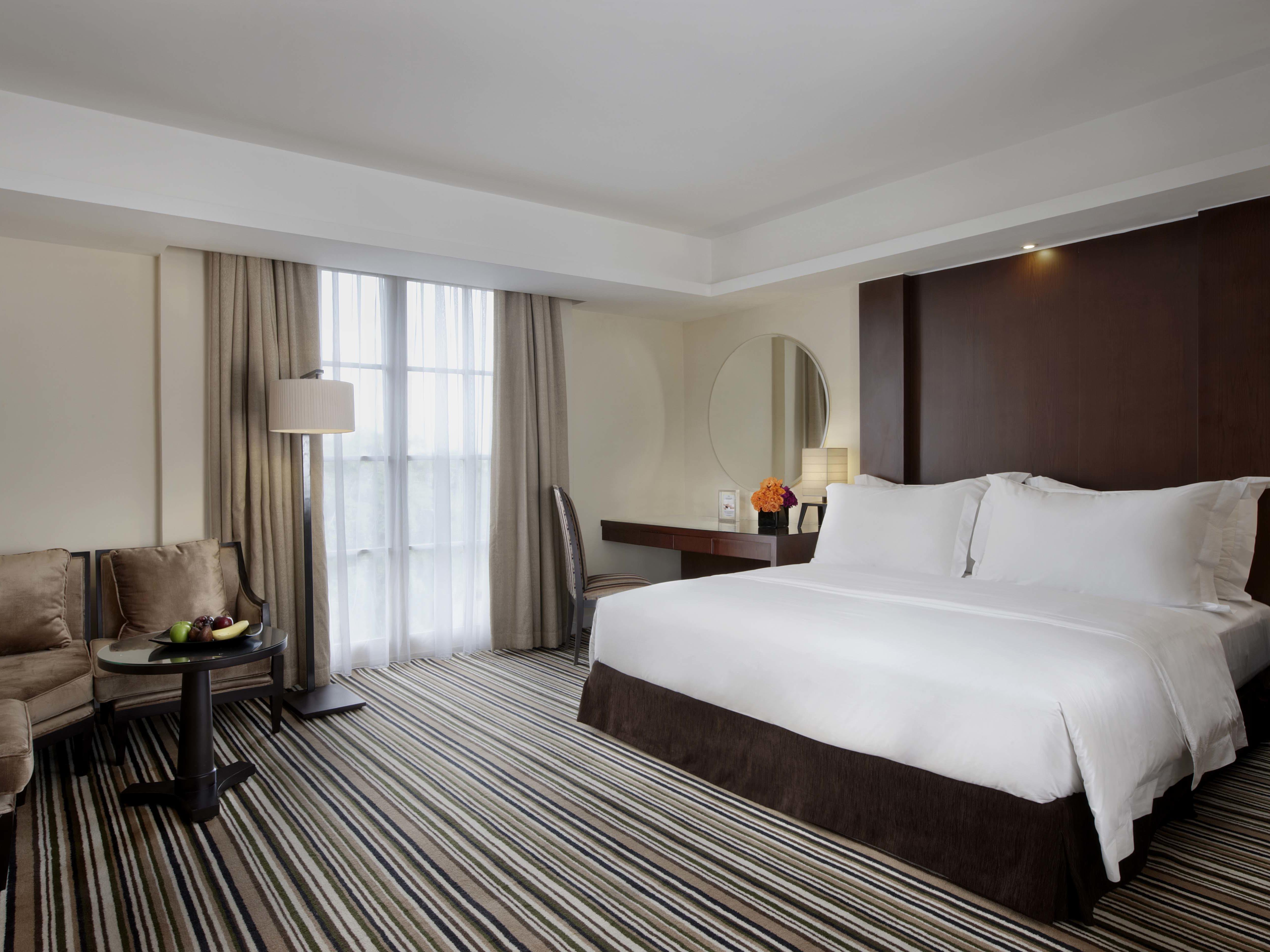 Mahakam Club Suite at Hotel Gran Mahakam in Jakarta, Indonesia