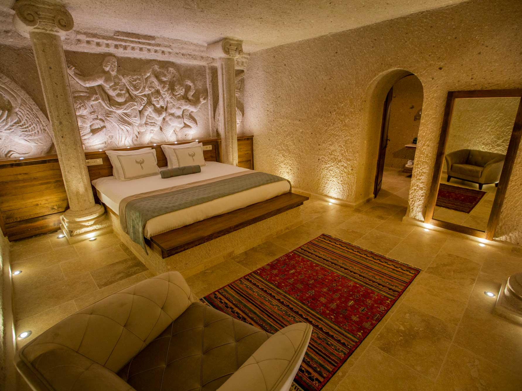 Imperial Cave Suites at Anka Cave Suites in Cappadocia, Turkey