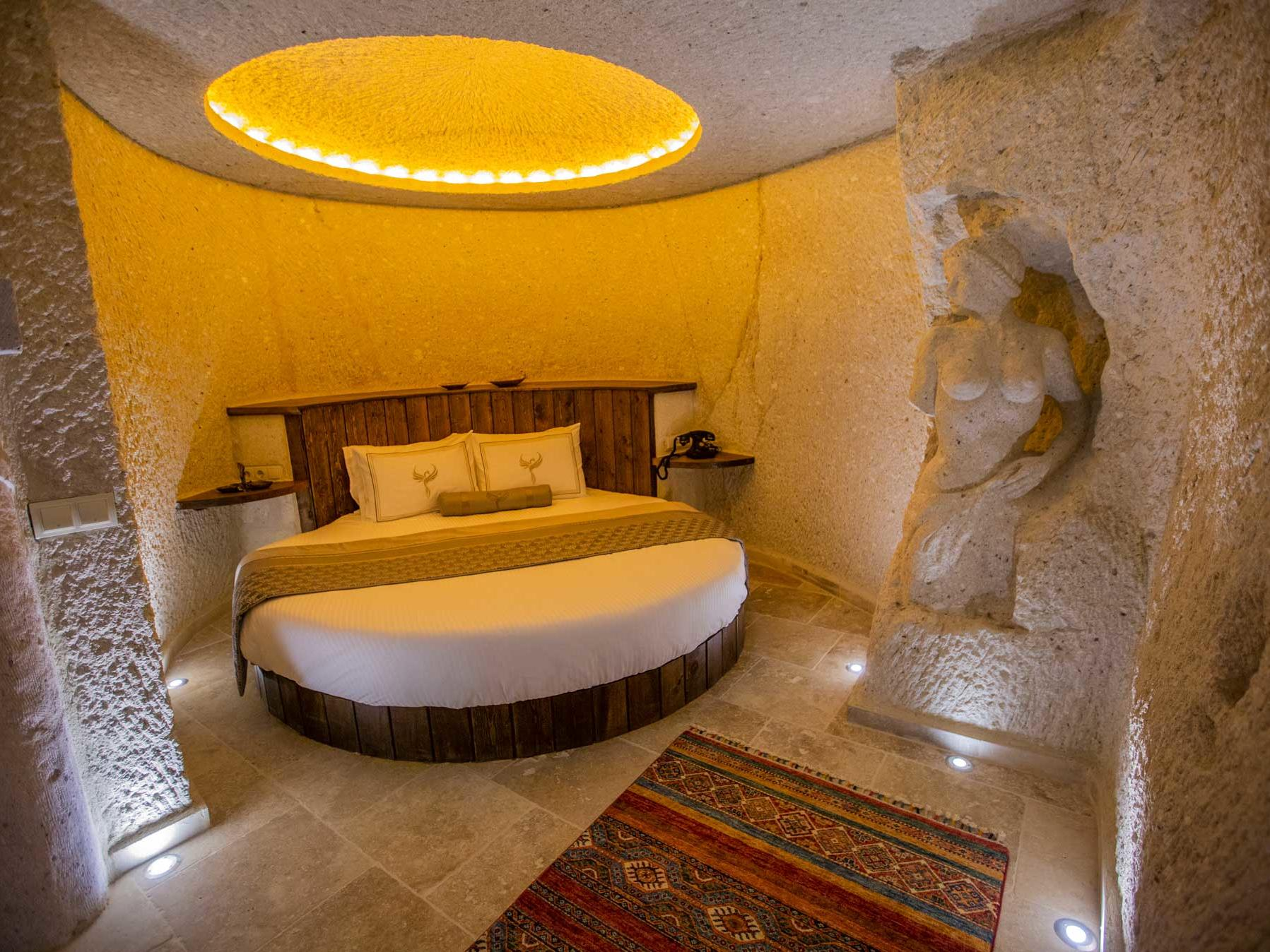 Superior Cave Suite at Anka Cave Suites in Cappadocia, Turkey