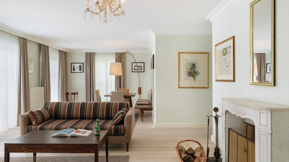 Traditional Suite with Terrace at Schloss Pichlarn