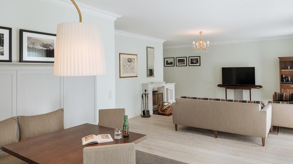 Livingroom at Schloss Pichlarn