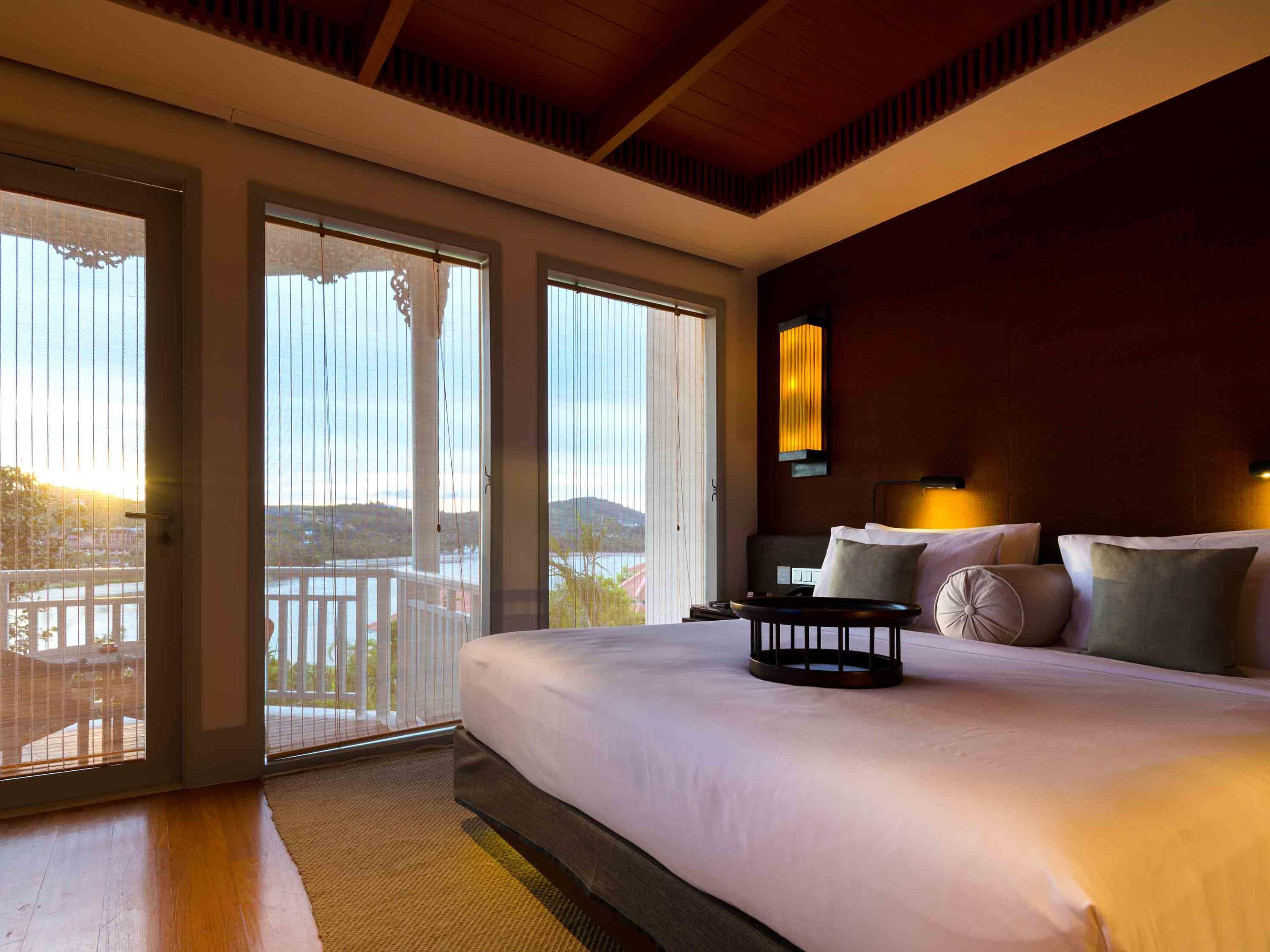 Amatara Wellness Resort Bay View Suite bedroom 1