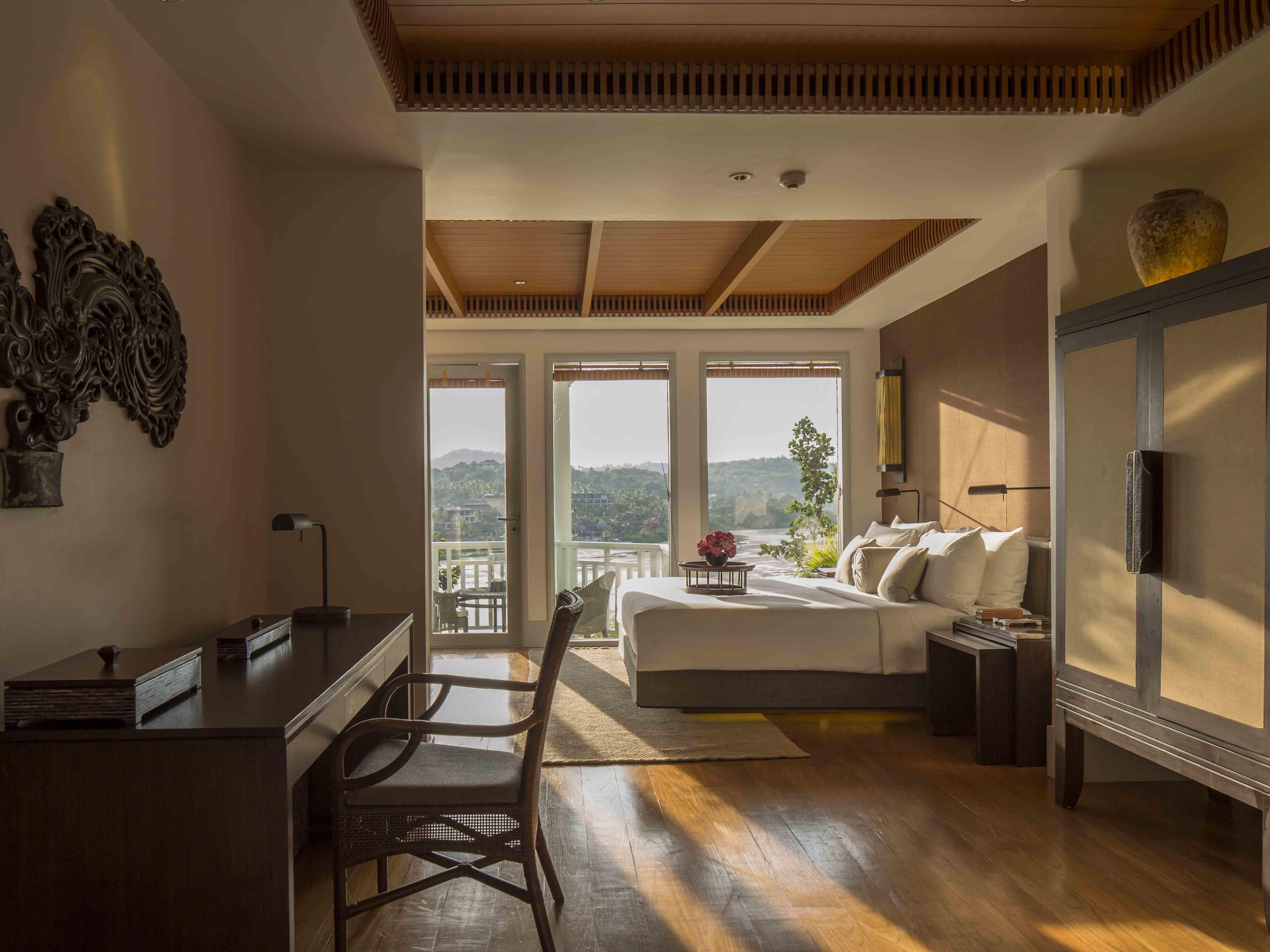 Amatara Wellness Resort Bay View Suite bedroom