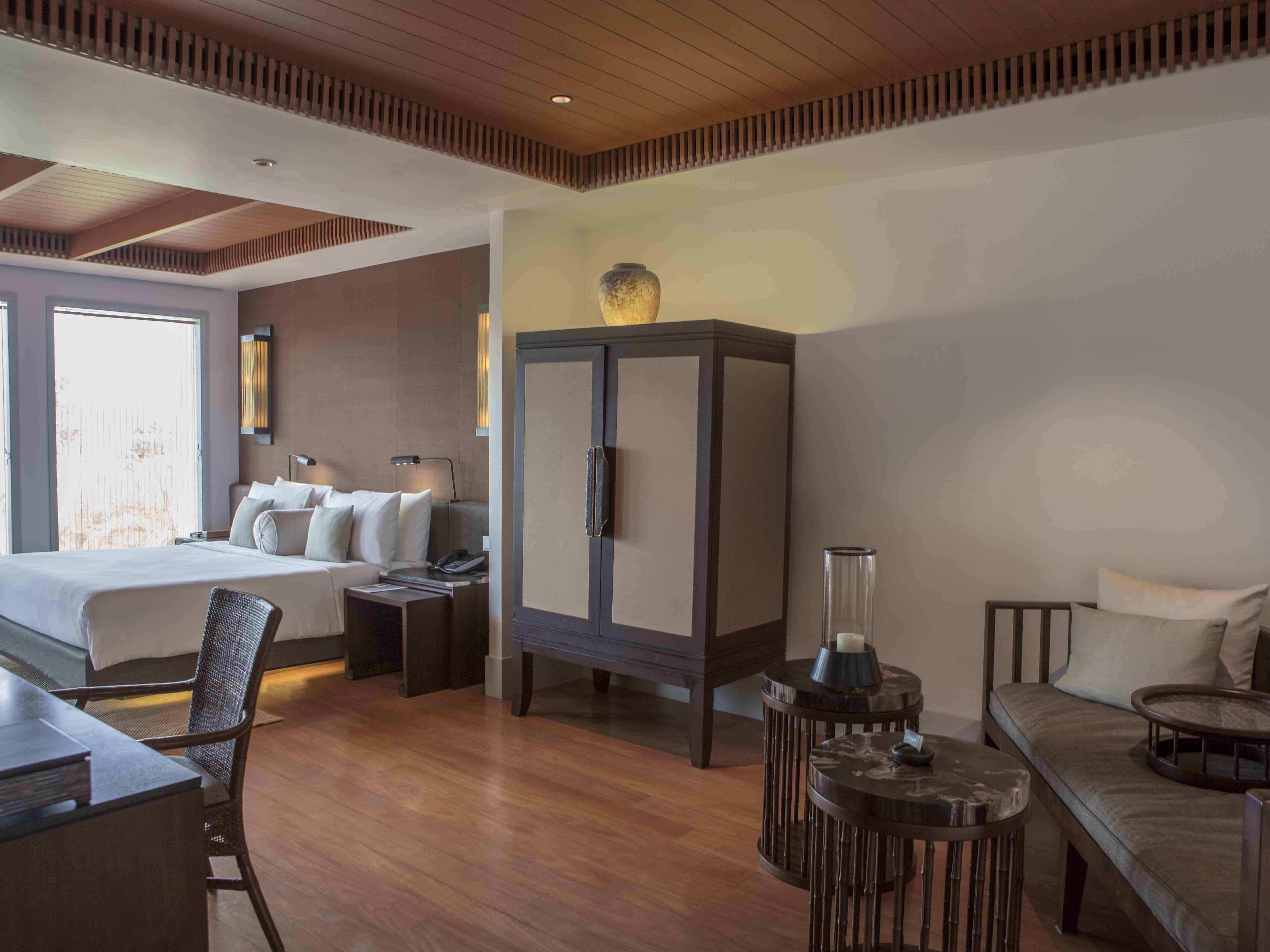 Amatara Wellness Resort Bay View Suite Living Area