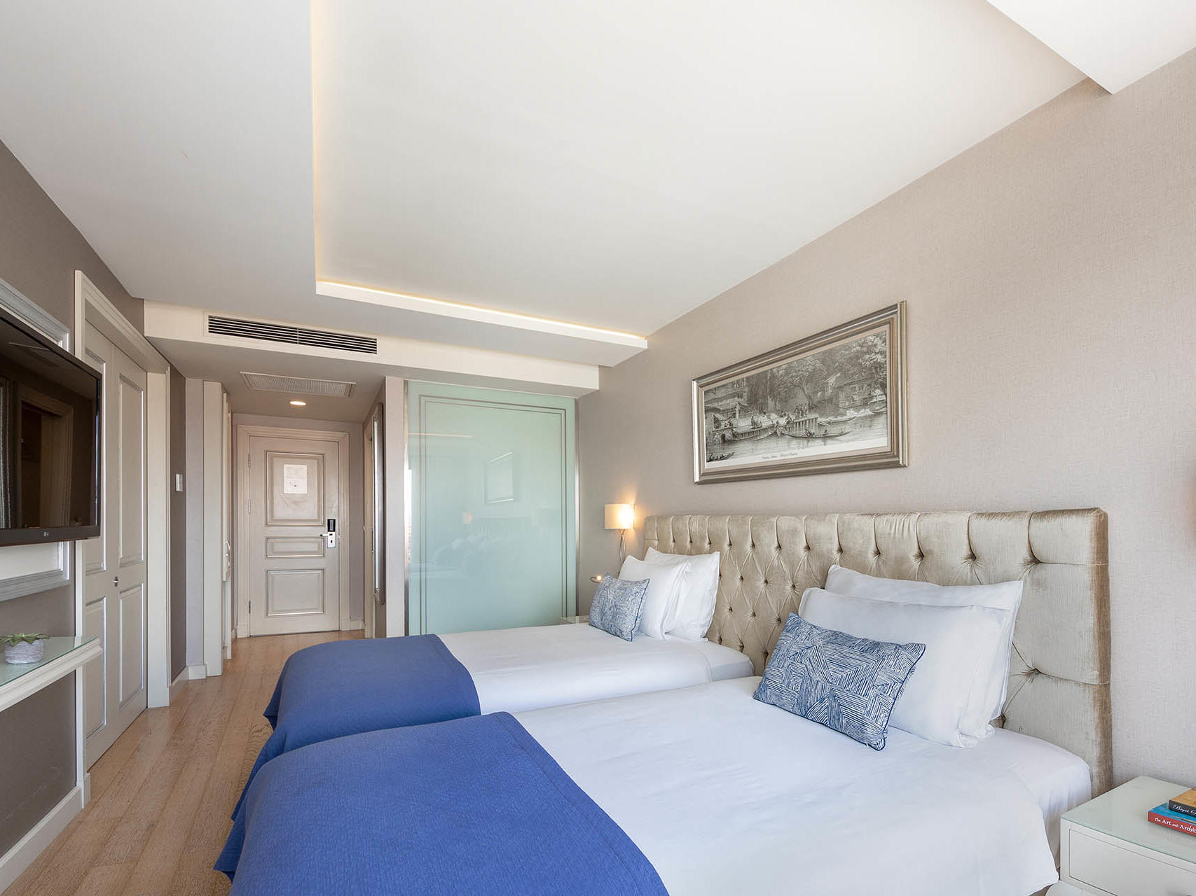Deluxe room at CVK Hotels in Istanbul