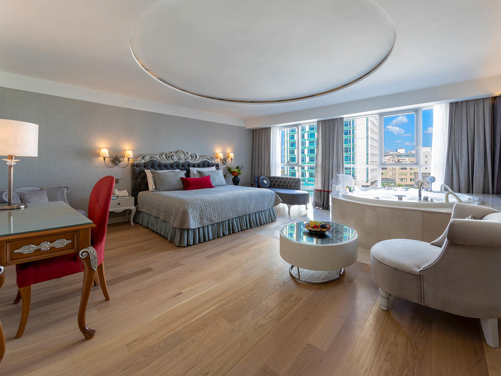 Luxury Suite at CVK Hotels in Istanbul