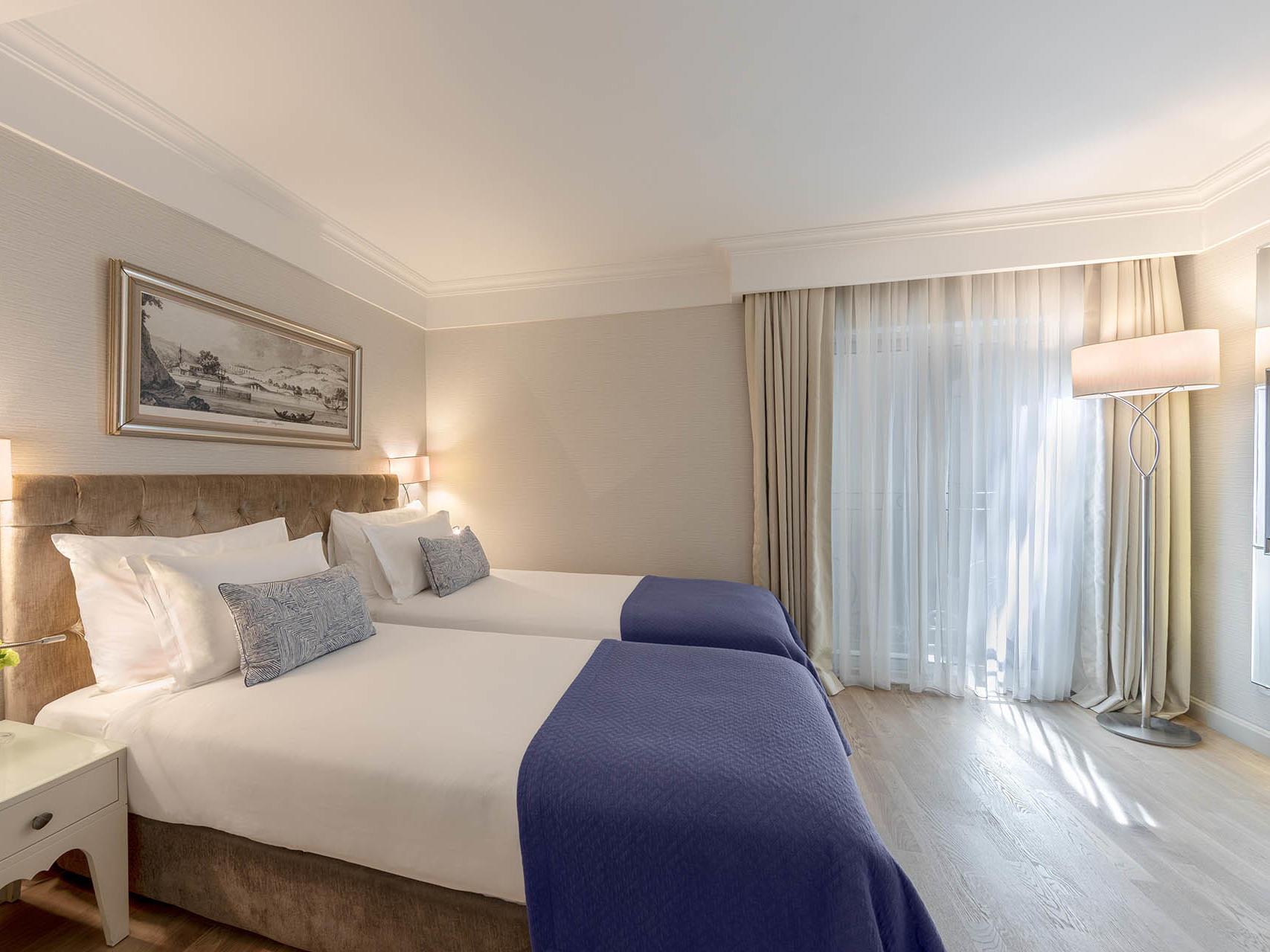 Standard room at CVK Hotels in Istanbul