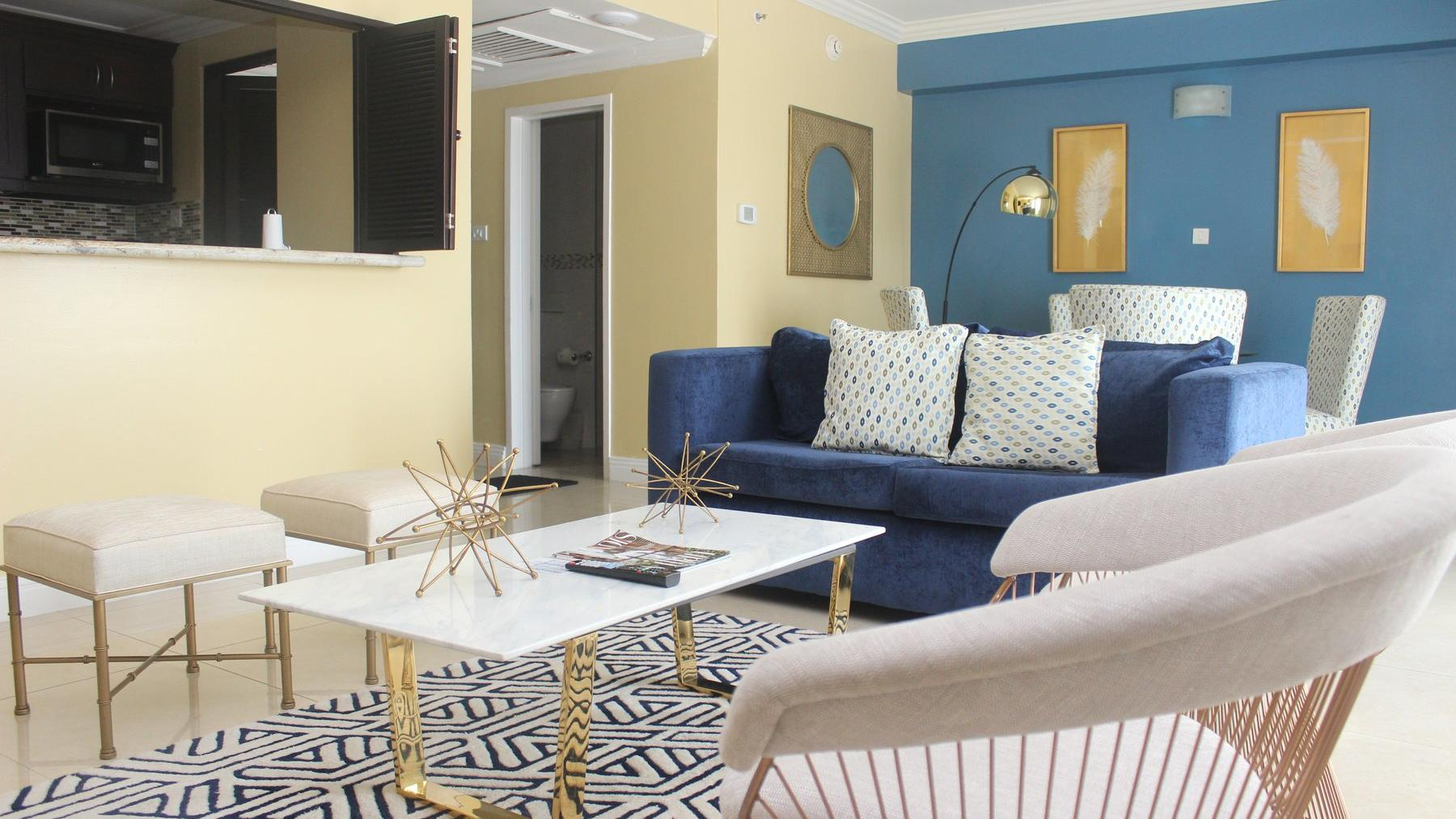 Trelawny Suite Living Room