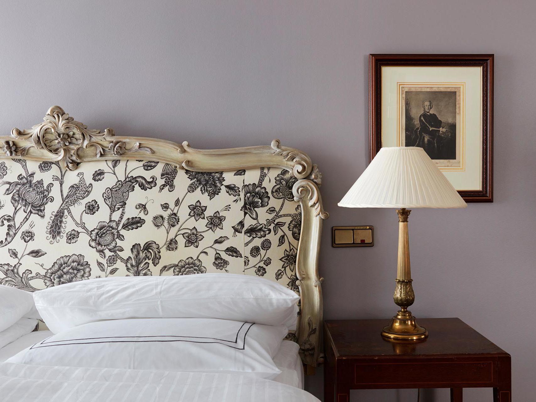 King Grand Deluxe Bedroom at Patrick Hellman Schlosshotel