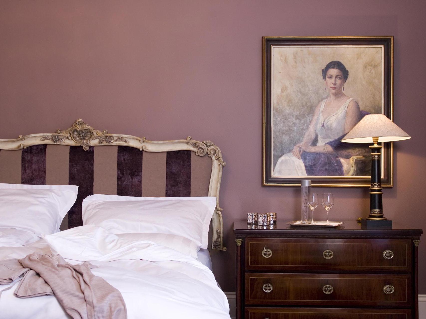 Kaiser Suite Bedroom at Patrick Hellman Schlosshotel
