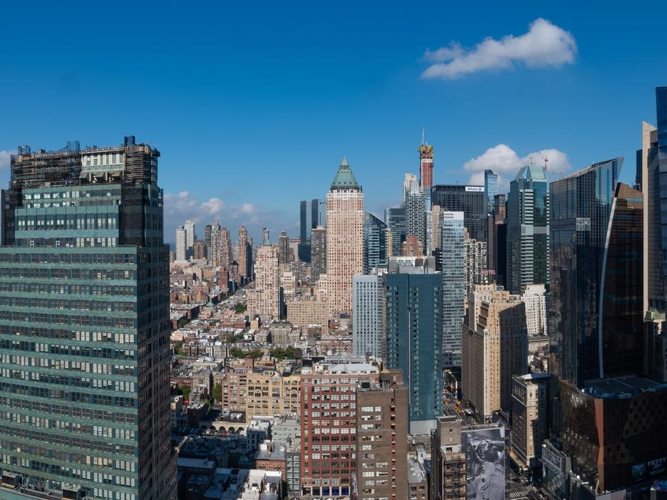 view of Midtown Manhattan