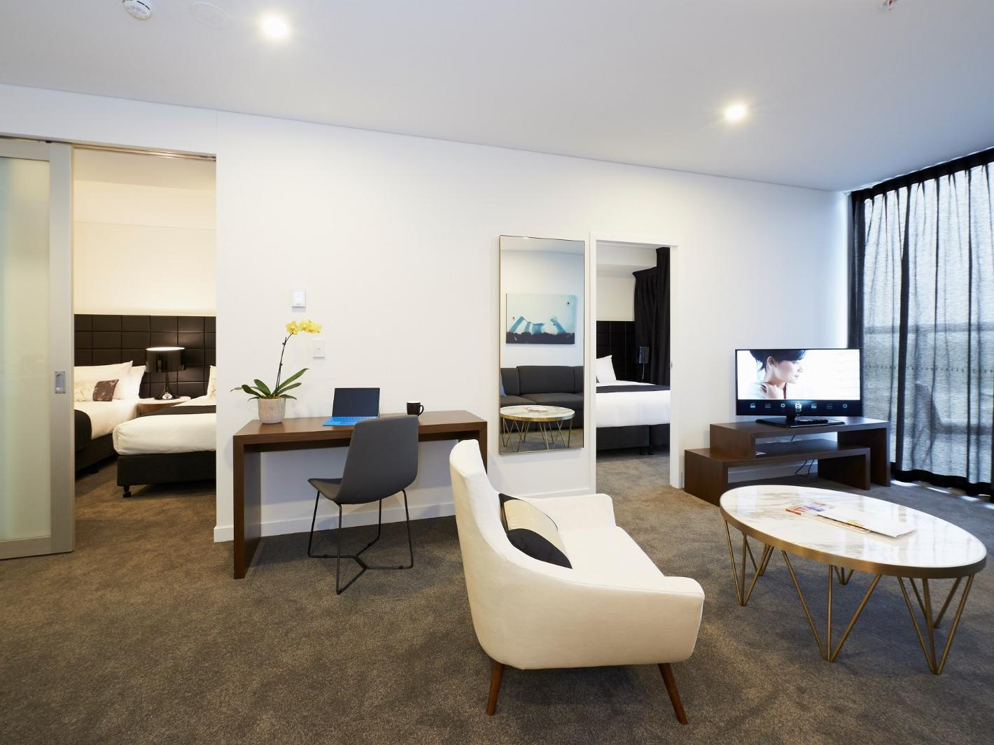 Terrace Two Bedroom at Silkari Suites Chatswood