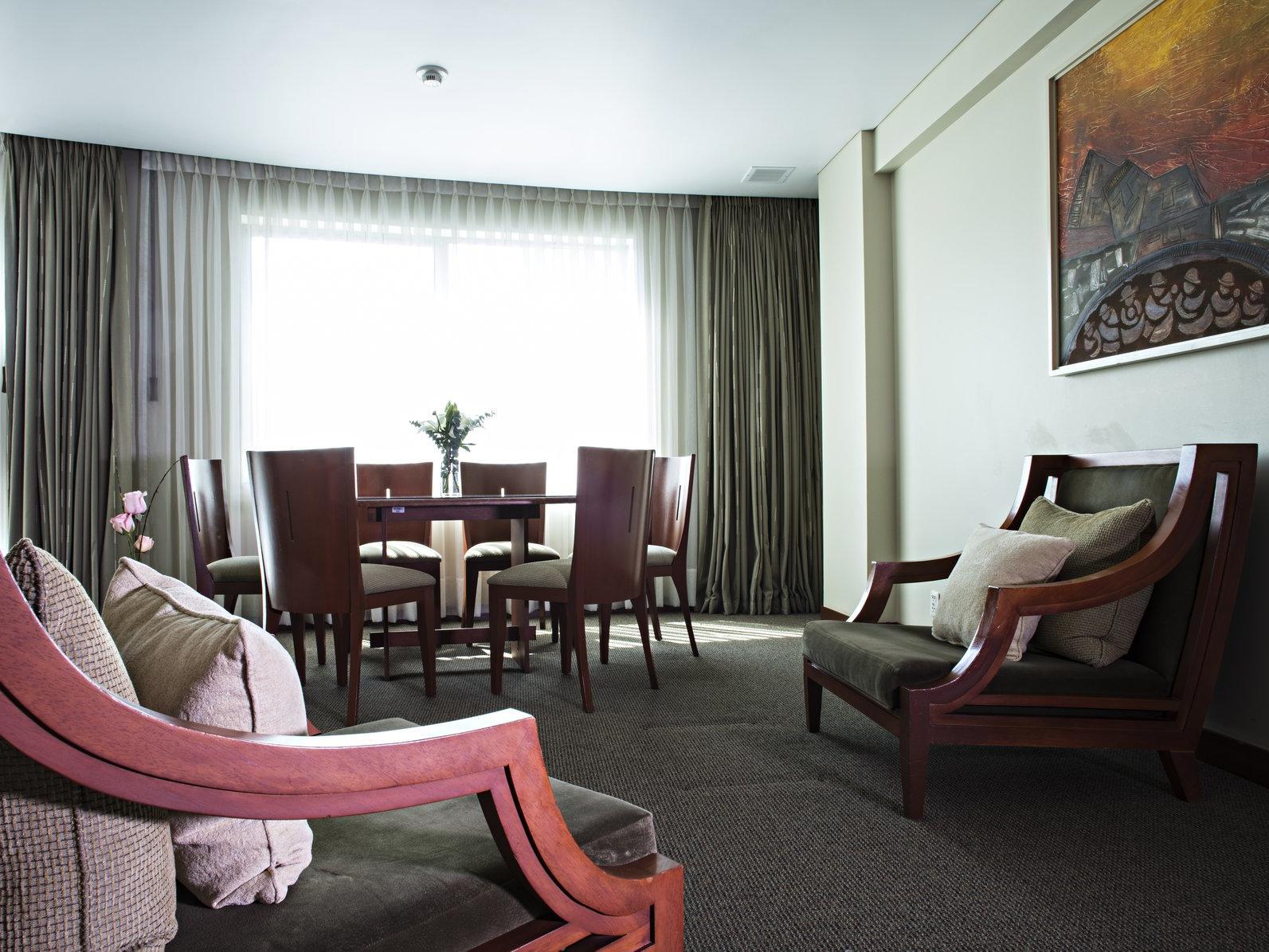 Sala de estar en suites