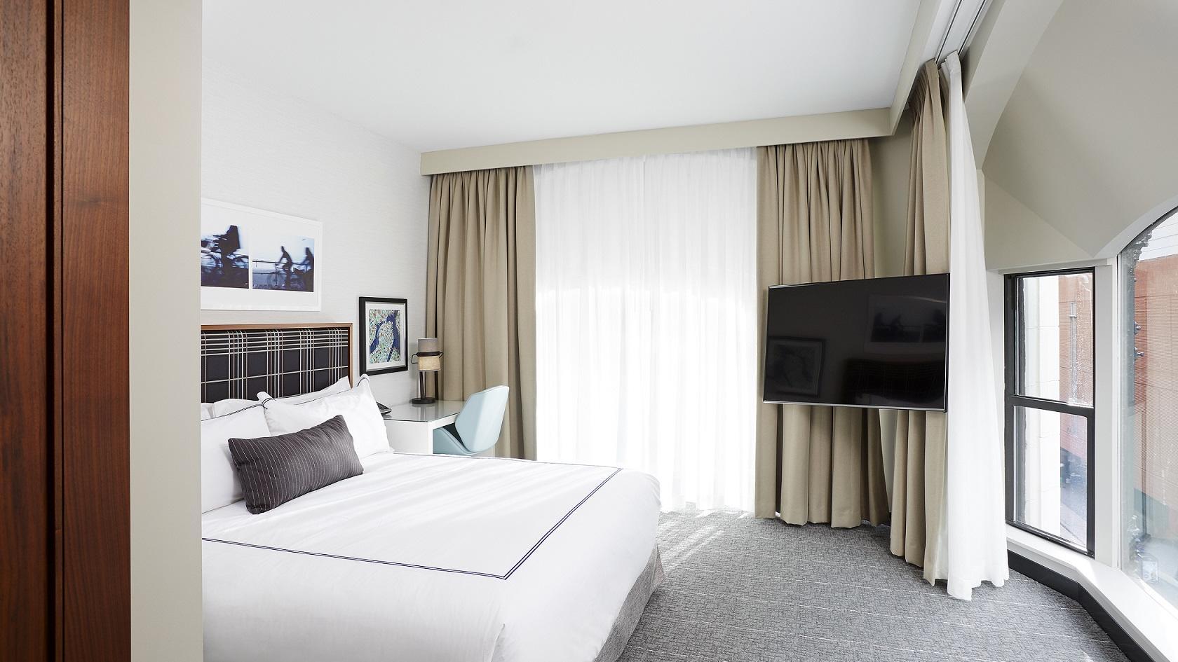 King Bedroom Godfrey Boston Hotel Rooms