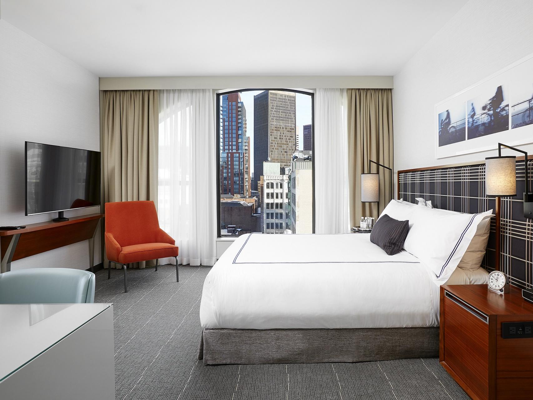 Executive King Room Interior with city views