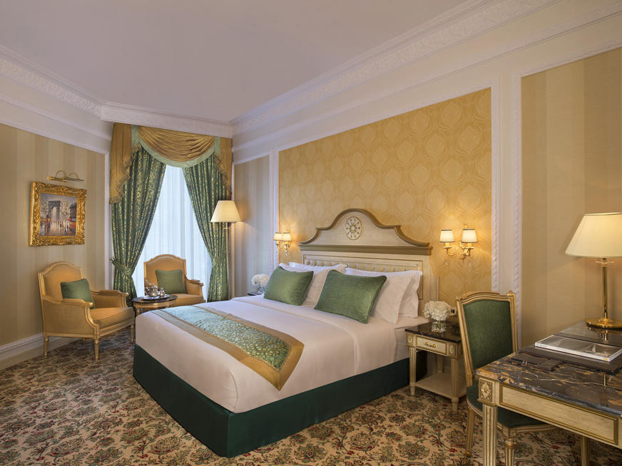 Deluxe Room at Royal Rose Hotel in Abu Dhabi, UAE