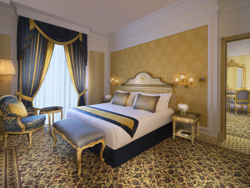 Luxury Suite at Royal Rose Hotel in Abu Dhabi, UAE