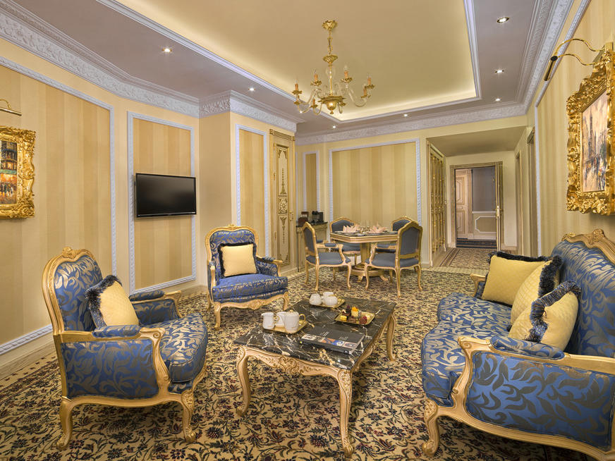 Rose Suite at Royal Rose Hotel in Abu Dhabi, UAE