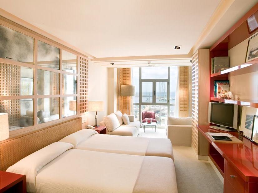 Standard Room at Hotel Club Maritimo de Sotogrande, Cádiz, Spain