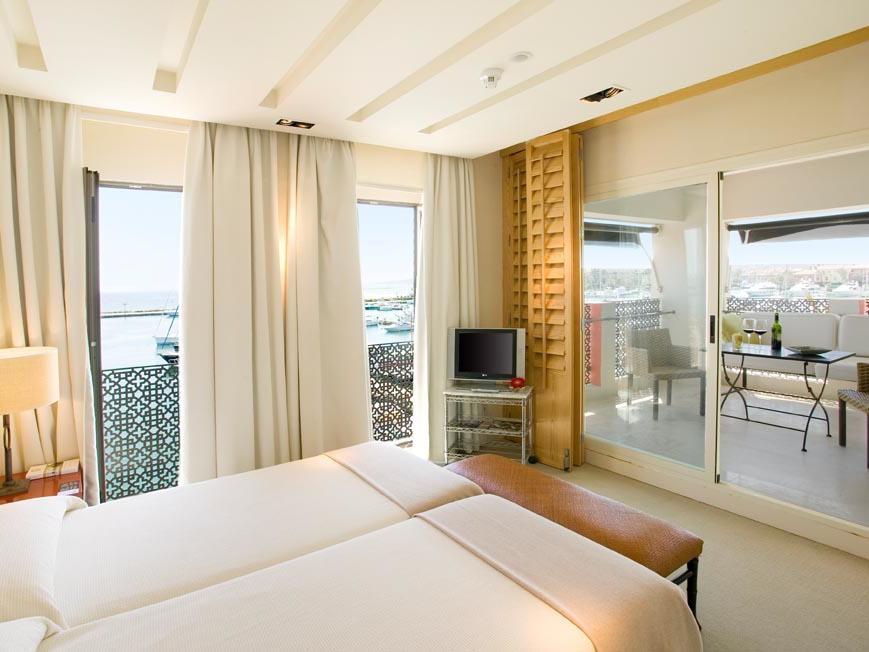 Suite at Hotel Club Maritimo de Sotogrande, Cádiz, Spain
