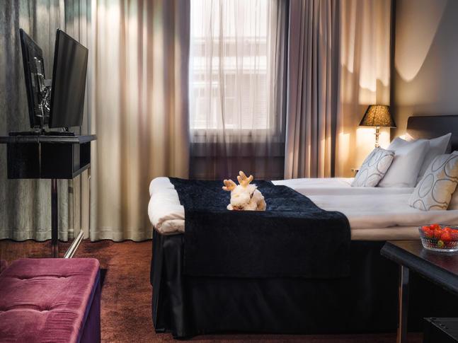 Comfort Room at Arctic City Hotel in Rovaniemi, Finland