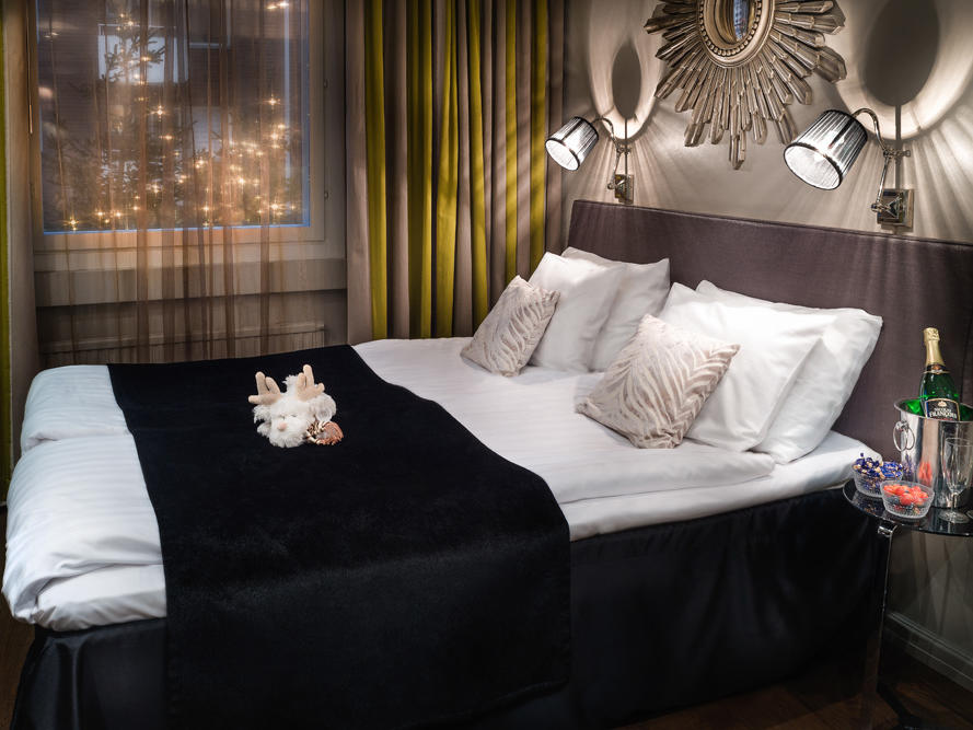 Lux Room at Arctic City Hotel in Rovaniemi, Finland