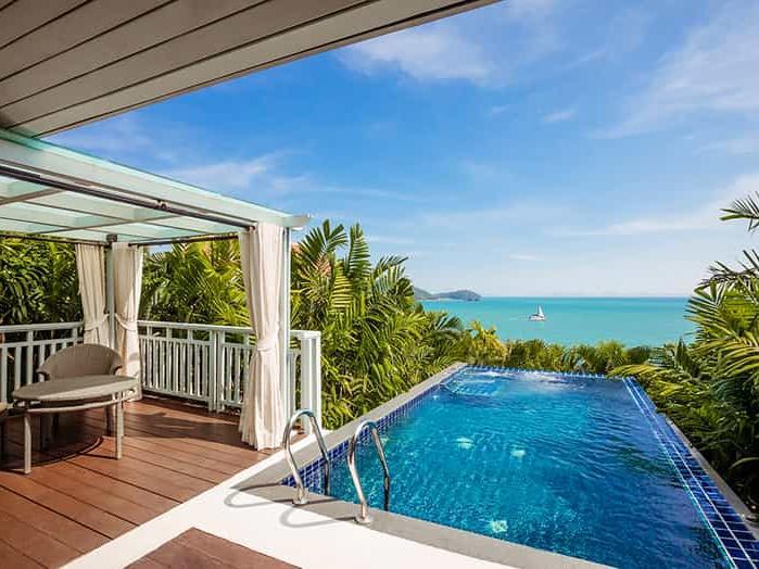 Amatara wellness resort - pool villa with private pool