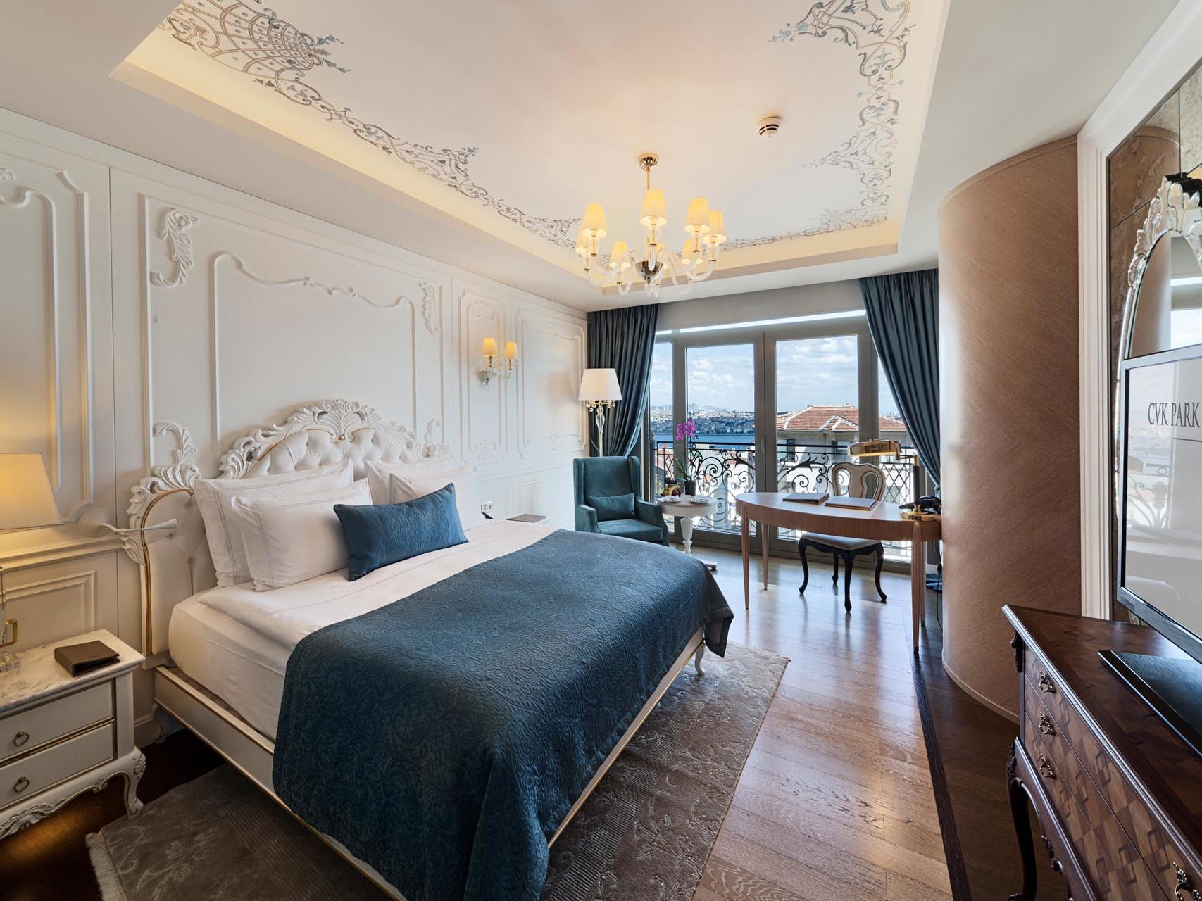 Superior room at CVK Hotels in Istanbul