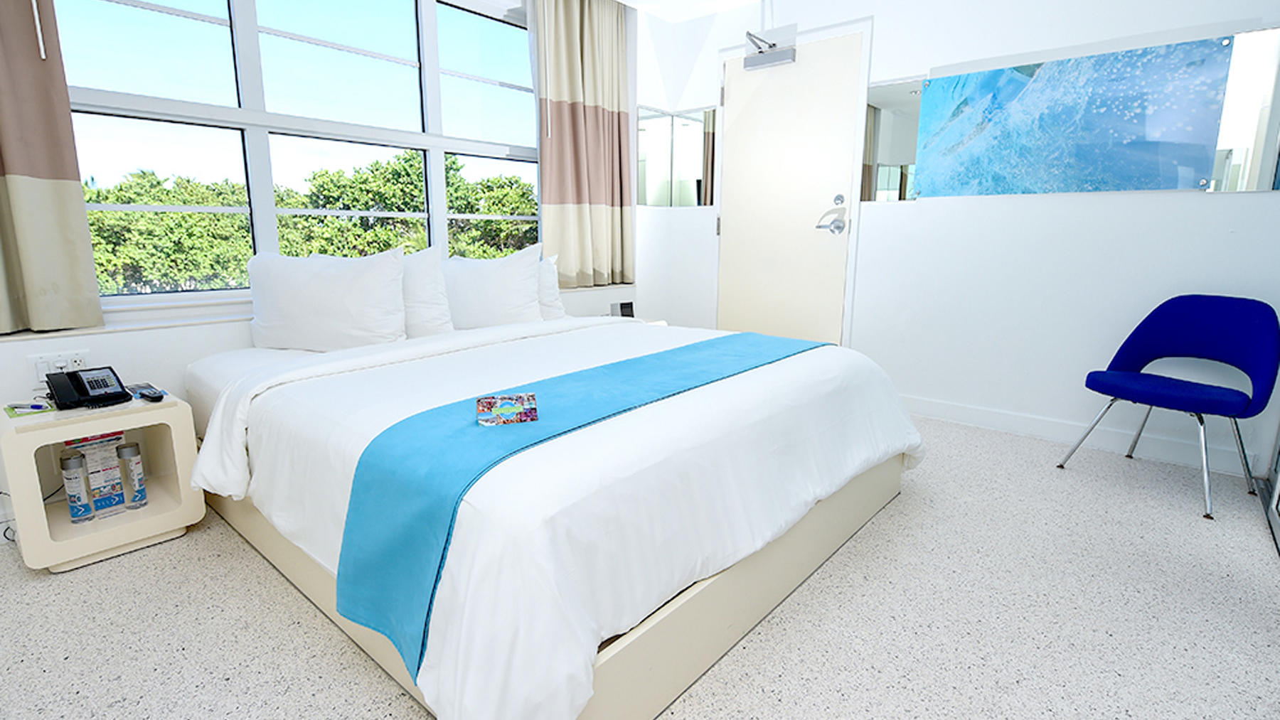 Accessible King Ocean Front with Roll-in Shower