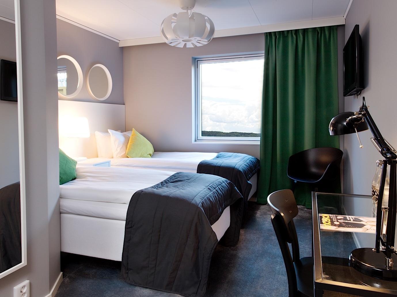 Comfort Twin Room at Welcome Hotel in Järfälla, Sweden