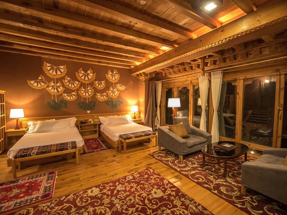 Junior Suite at Naksel Boutique Hotel Spa in Paro. Bhutan