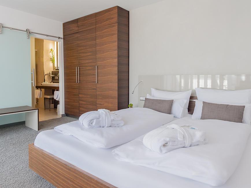 Deluxe Room at Hotel Frankenland in Bad Kissingen, Germany