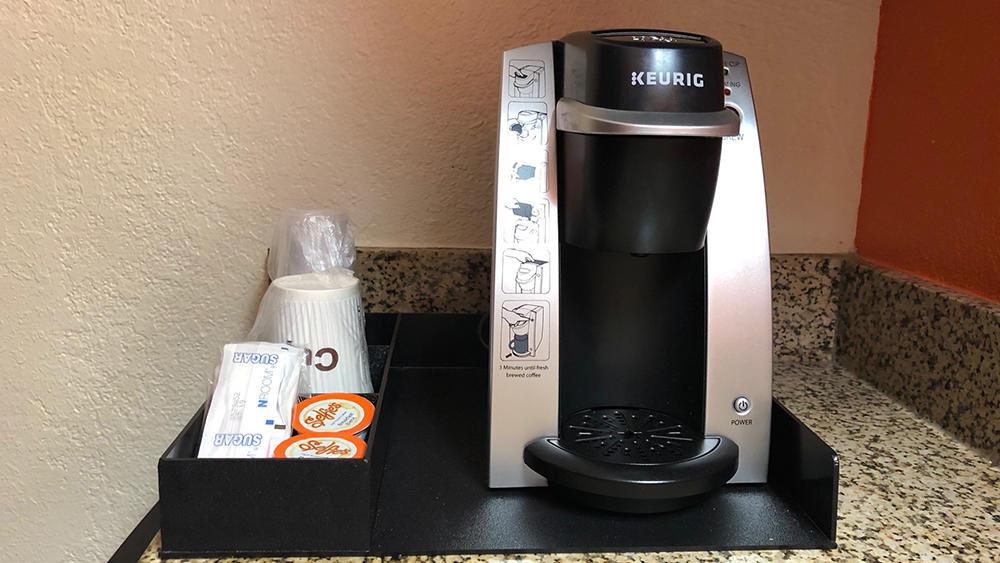 Keurig Coffee in Superior 2 Queen Beds with Jet Tub