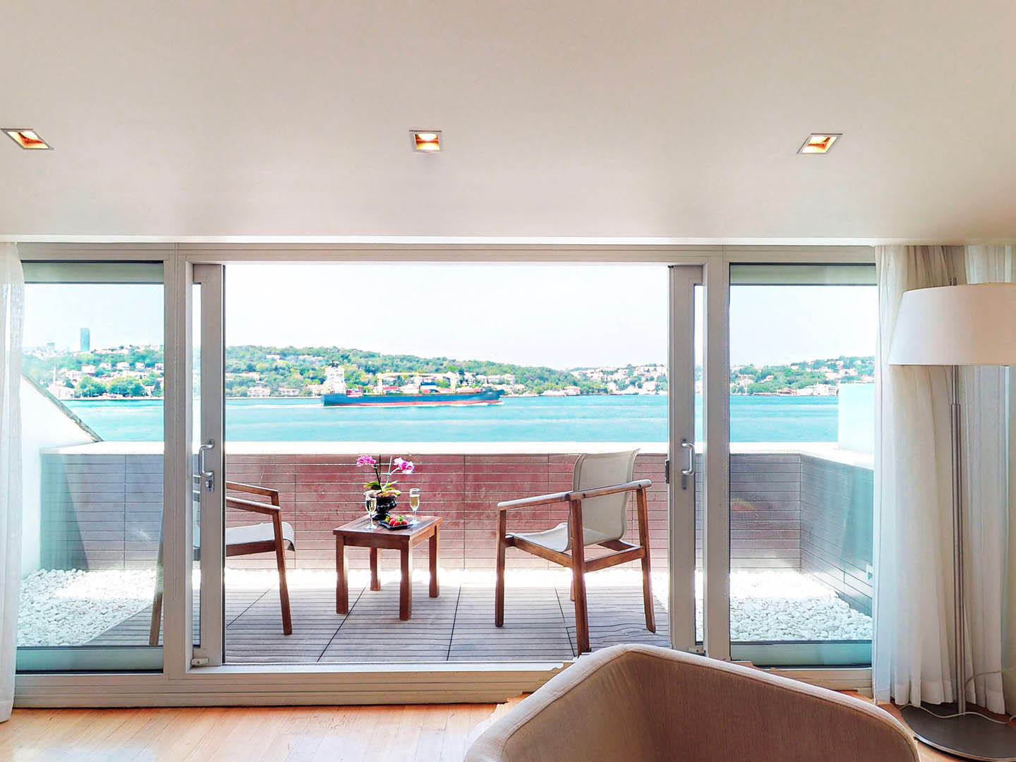 Bosphorus Terrace Room at A'jia Hotel Istanbul