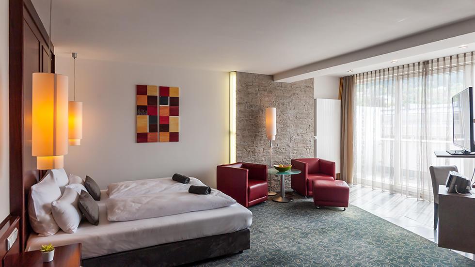 Junior Suite at Hotel Frankenland in Bad Kissingen, Germany