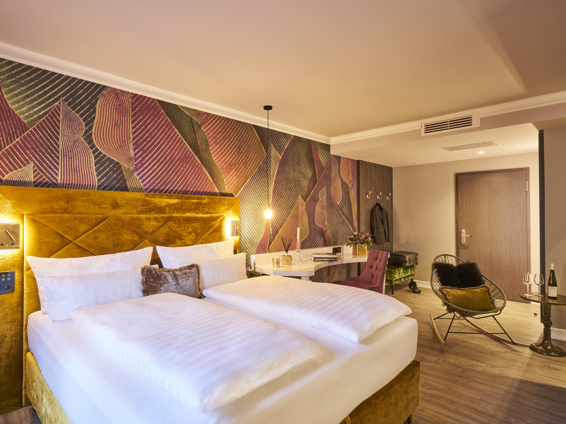 Grand Deluxe Double Room at Classic Hotel Harmonie in Cologne