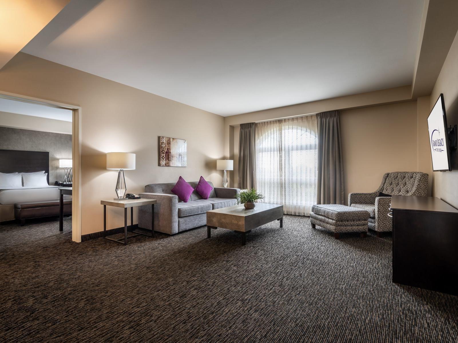 legacy suite living room