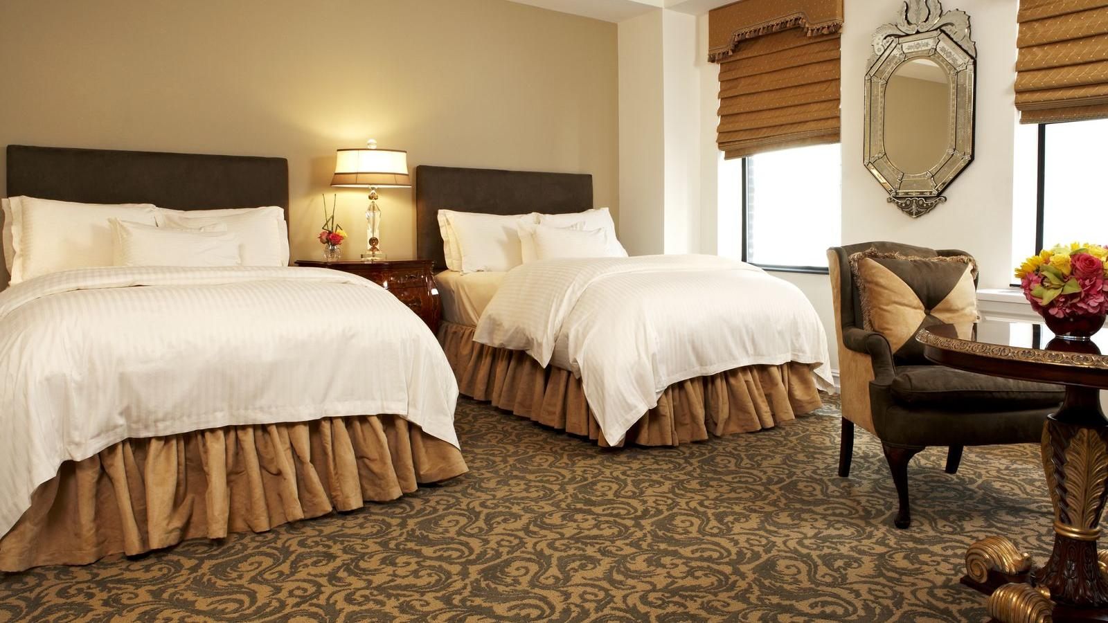 Deluxe Guestroom with two double beds