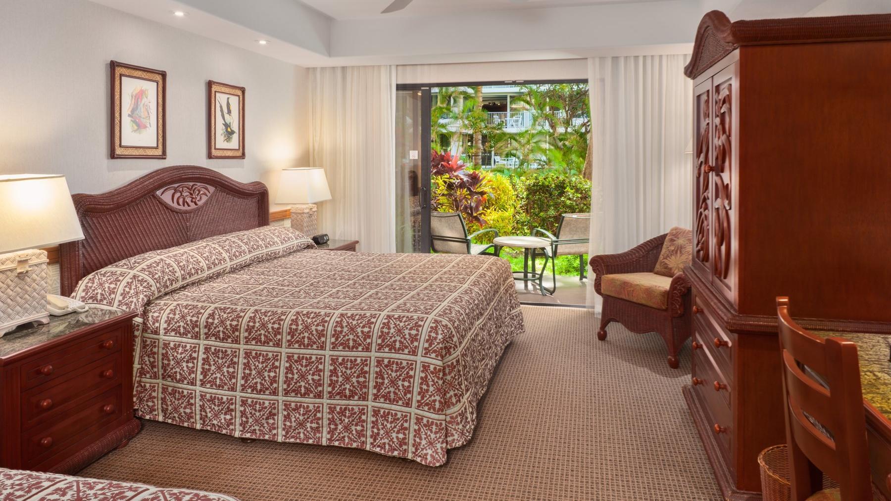 Kaanapali Beach Hotel Garden View Room
