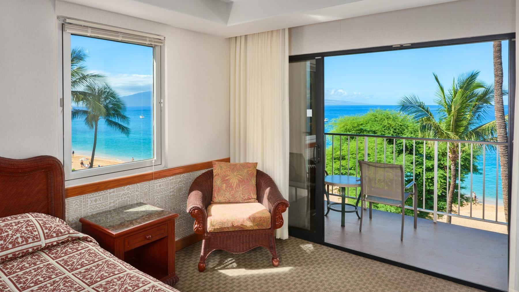 Kaanapali Beach Hotel Ocean Front Room