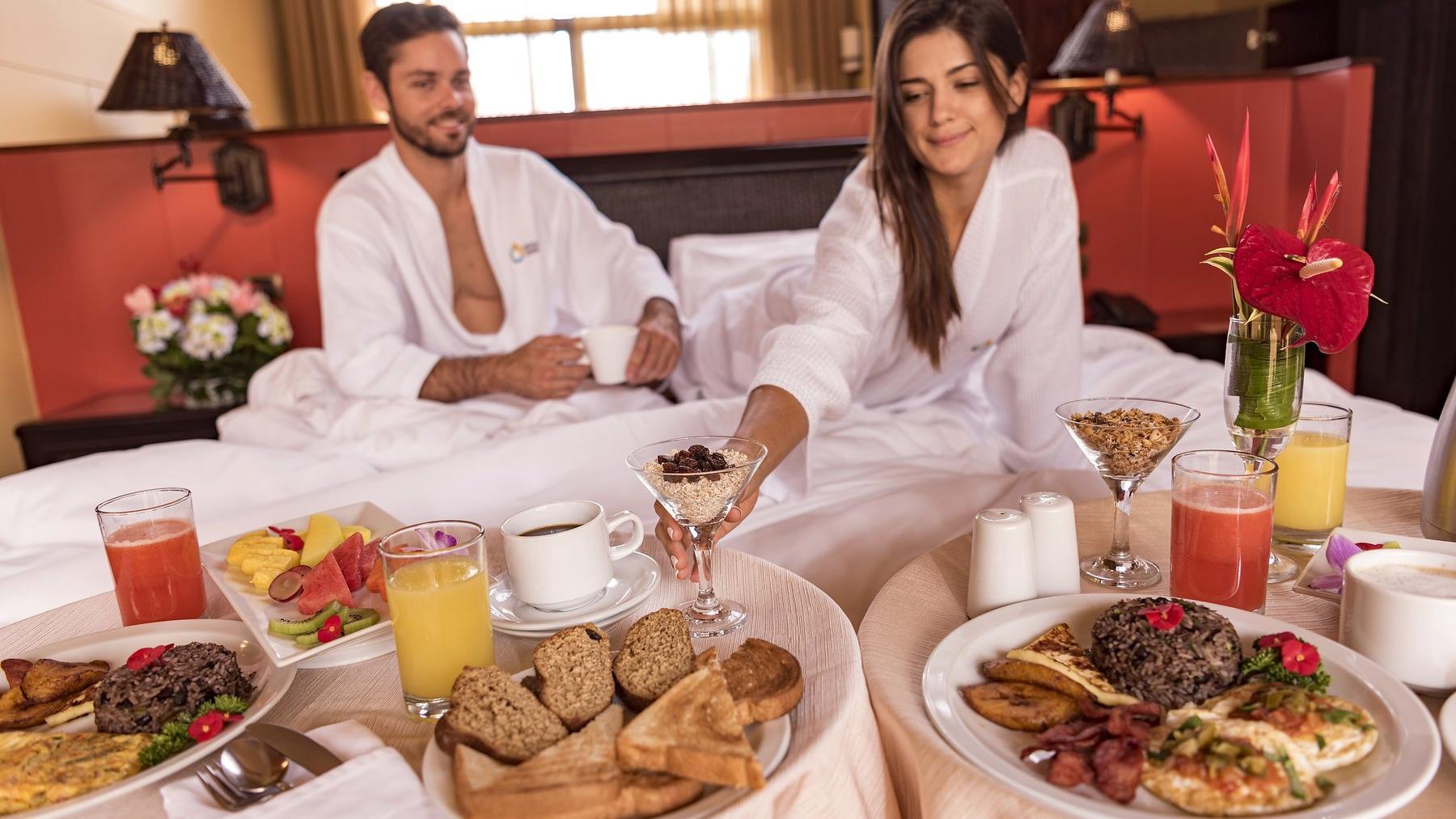 Couple Suite Breakfast
