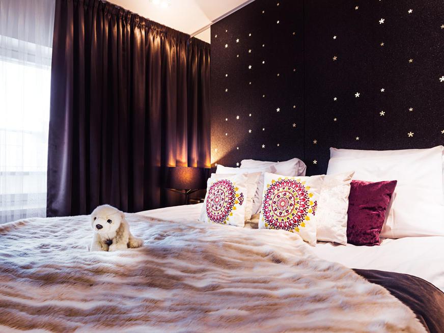 Arctic Room at Arctic Light Hotel in Rovaniemi, Finland