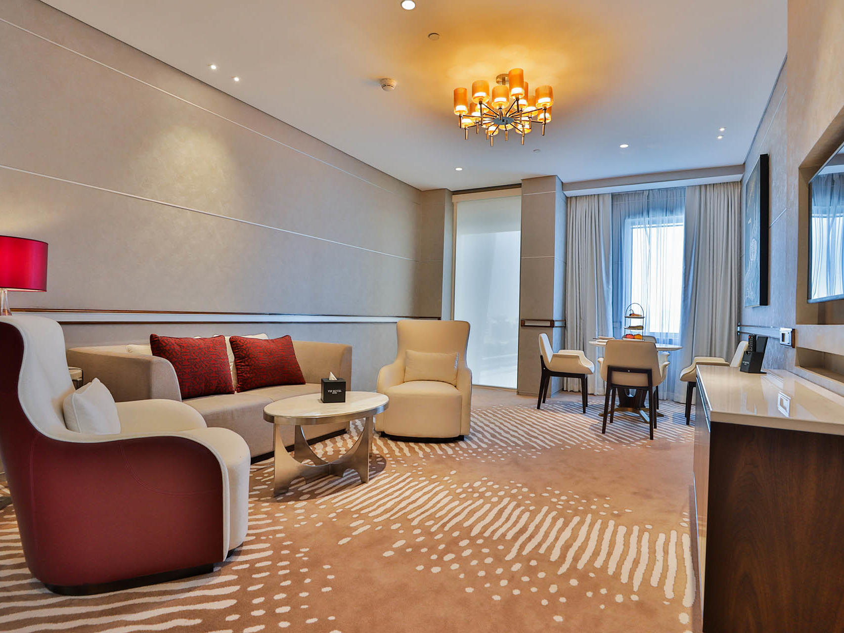 Executive Suite at VIP Hotel in Doha