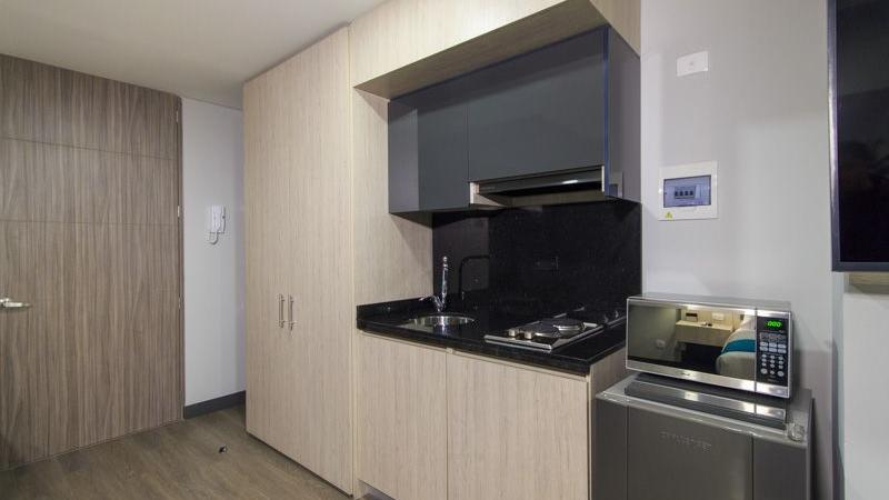 Cocina Grand Suite GIO Suites