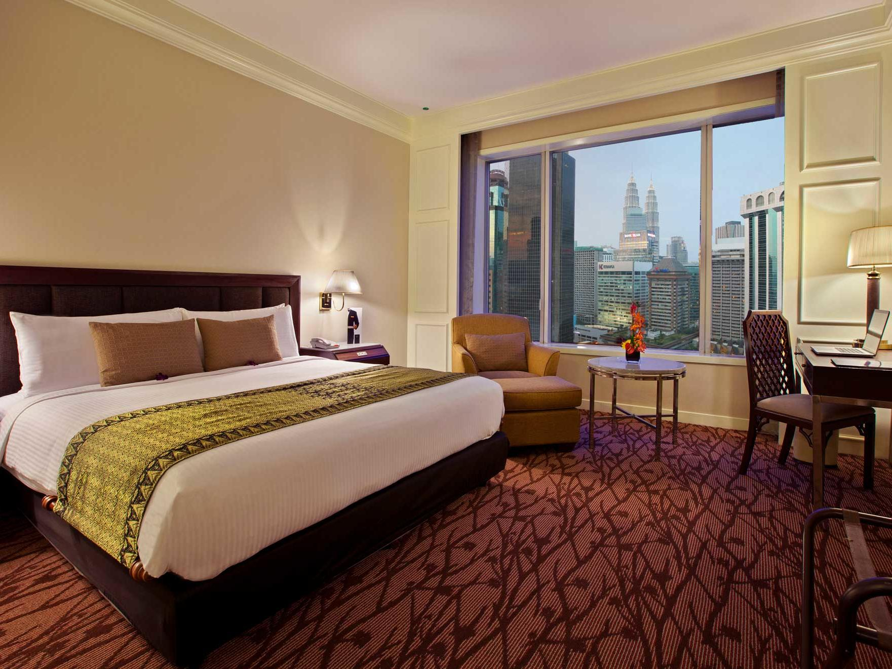 Deluxe Room with a view of Kuala Lumpur city centre