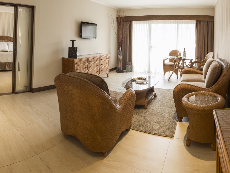 Habitación King con sala de estar